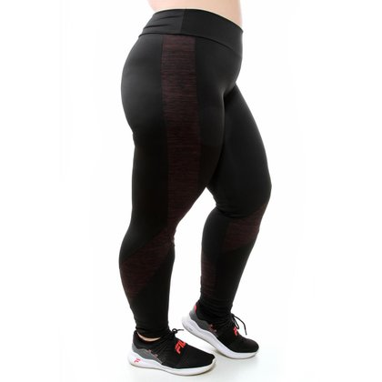 Calça Risca Fitness Plus Size