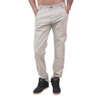 Calça sarja floripa -marrom -42