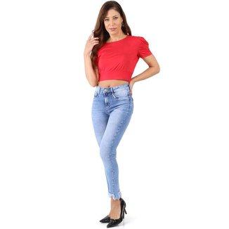 Calça Sawary jeans feminina levanta bumbum - 267806 46