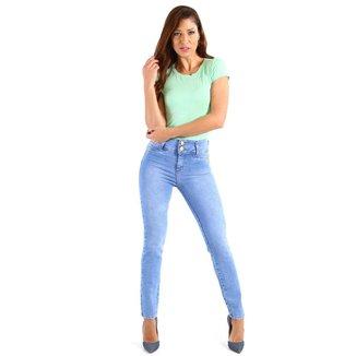 Calça Sawary jeans feminina modela bumbum - 268084 46