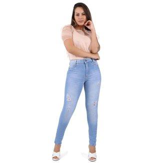 Calça Sawary jeans feminina push up - 267912 46