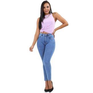 Calça Sawary jeans feminina super lipo - 267475 48