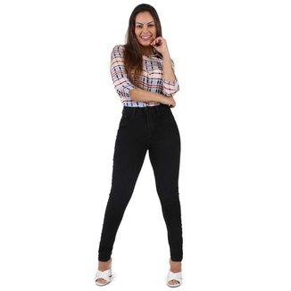 Calça Sawary Jeans sarja feminina cigarrete - 268131 46