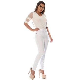 Calça Sawary Jeans sarja feminina legging - 265274 44