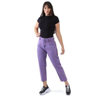 Calça Sawary Jeans sarja feminina slouchy - 267828 42