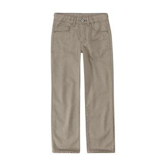 Calça Skinny Em Sarja Viroblock® Menino Malwee Kids Bege - 12 Malwee Kids