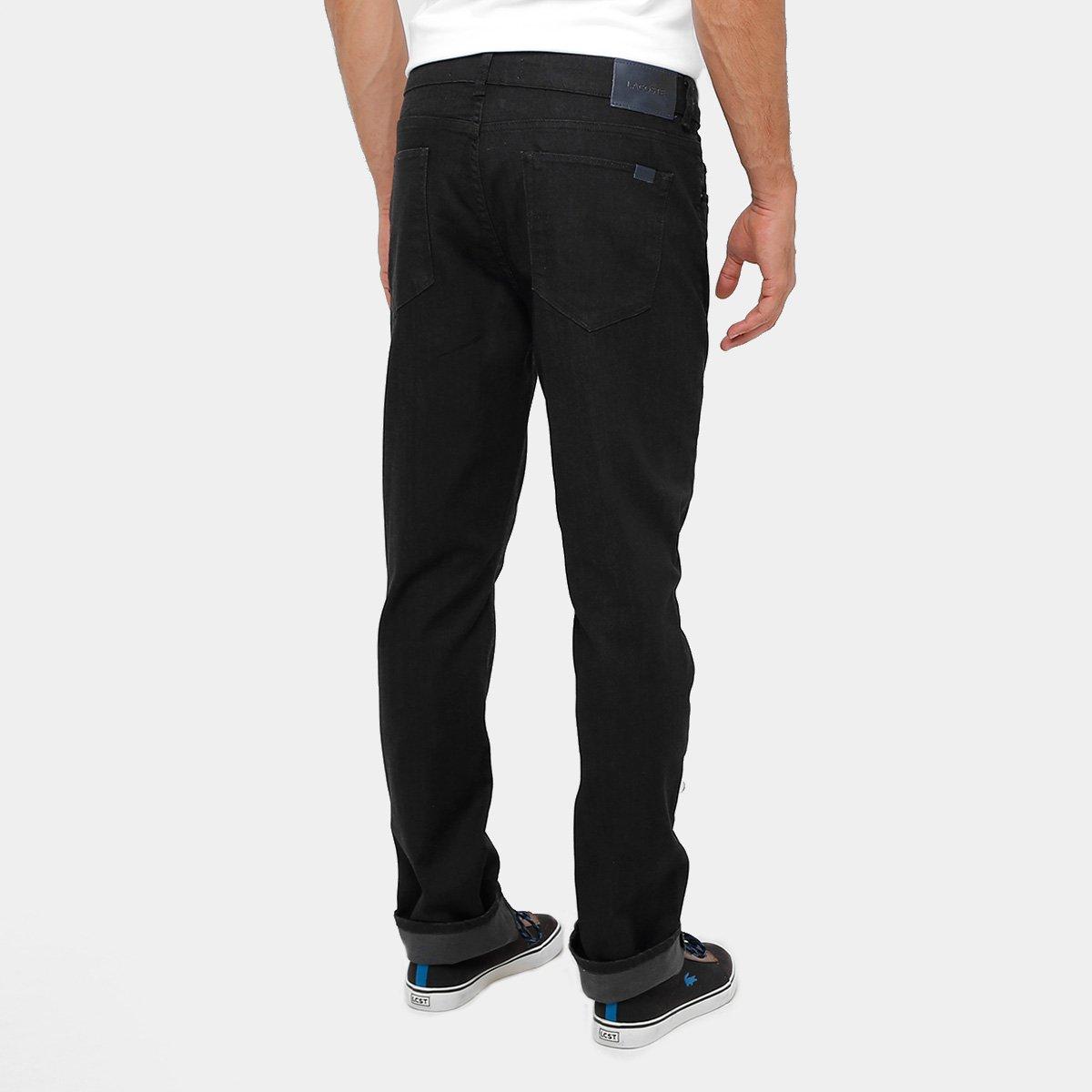 Calça Skinny Lacoste Indigo Color Masculina - Preto - Compre Agora ... d08b111552