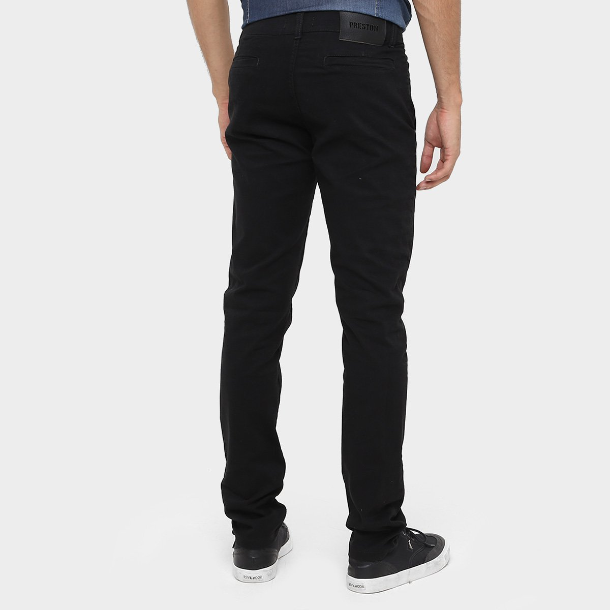 Calça Skinny Preston Color Bolso Faca Masculina - Compre Agora ... 886f5398431