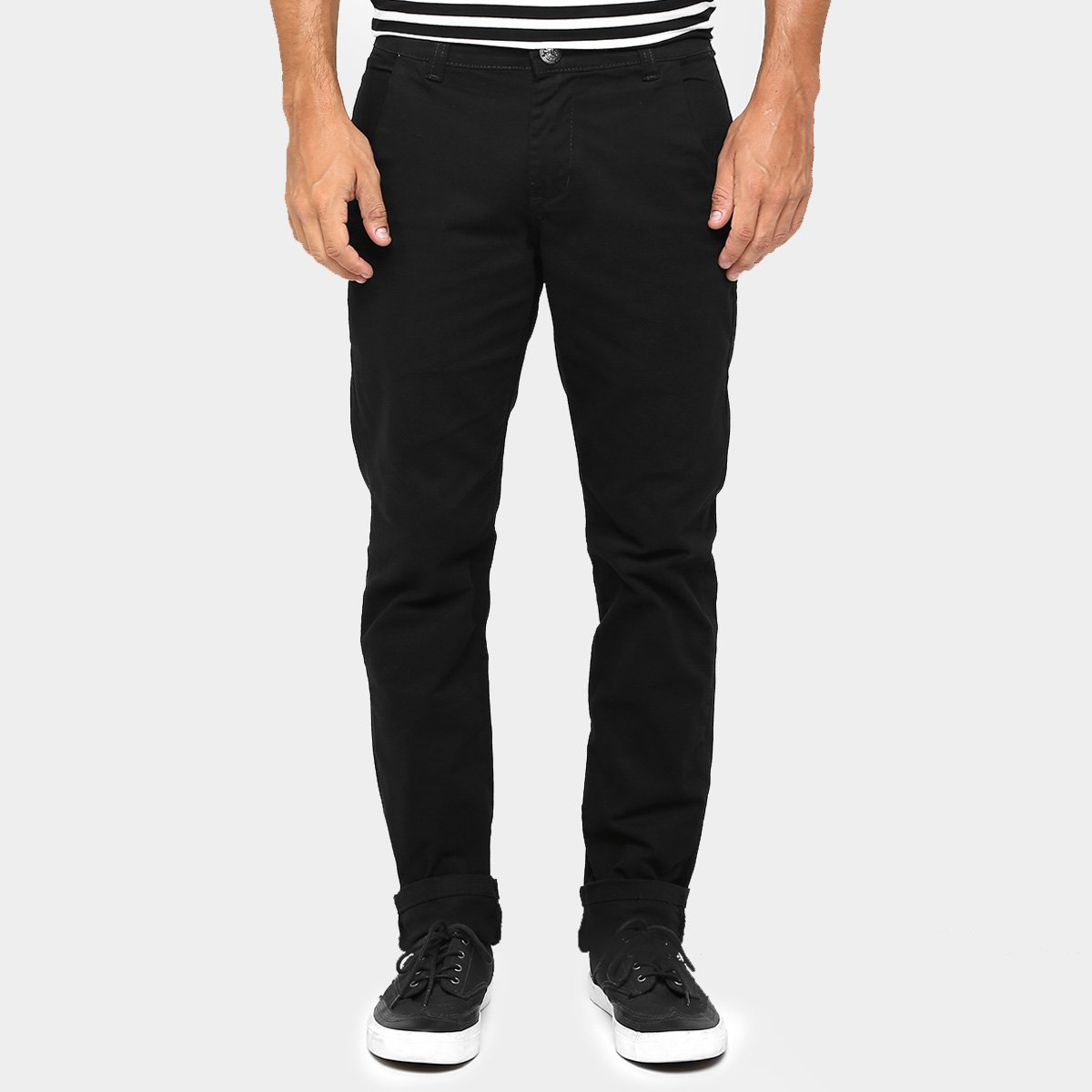 Calça Skinny Preston Color Bolso Faca Masculina - Jeans - Compre Agora  41bdf04711f