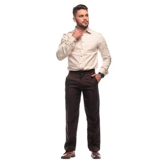 Calça Social Masculina Oxford Tradicional Tecido Plus Size