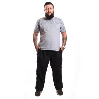 Calça Tactel Ox Bolsos Frente e Costas Ideal Para Atividades Fisica Confortavel