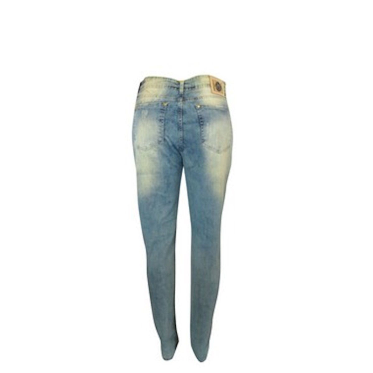 Visual Visual Jeans Calça Feminina Jeans Calça Feminina Azul 67Iw8x