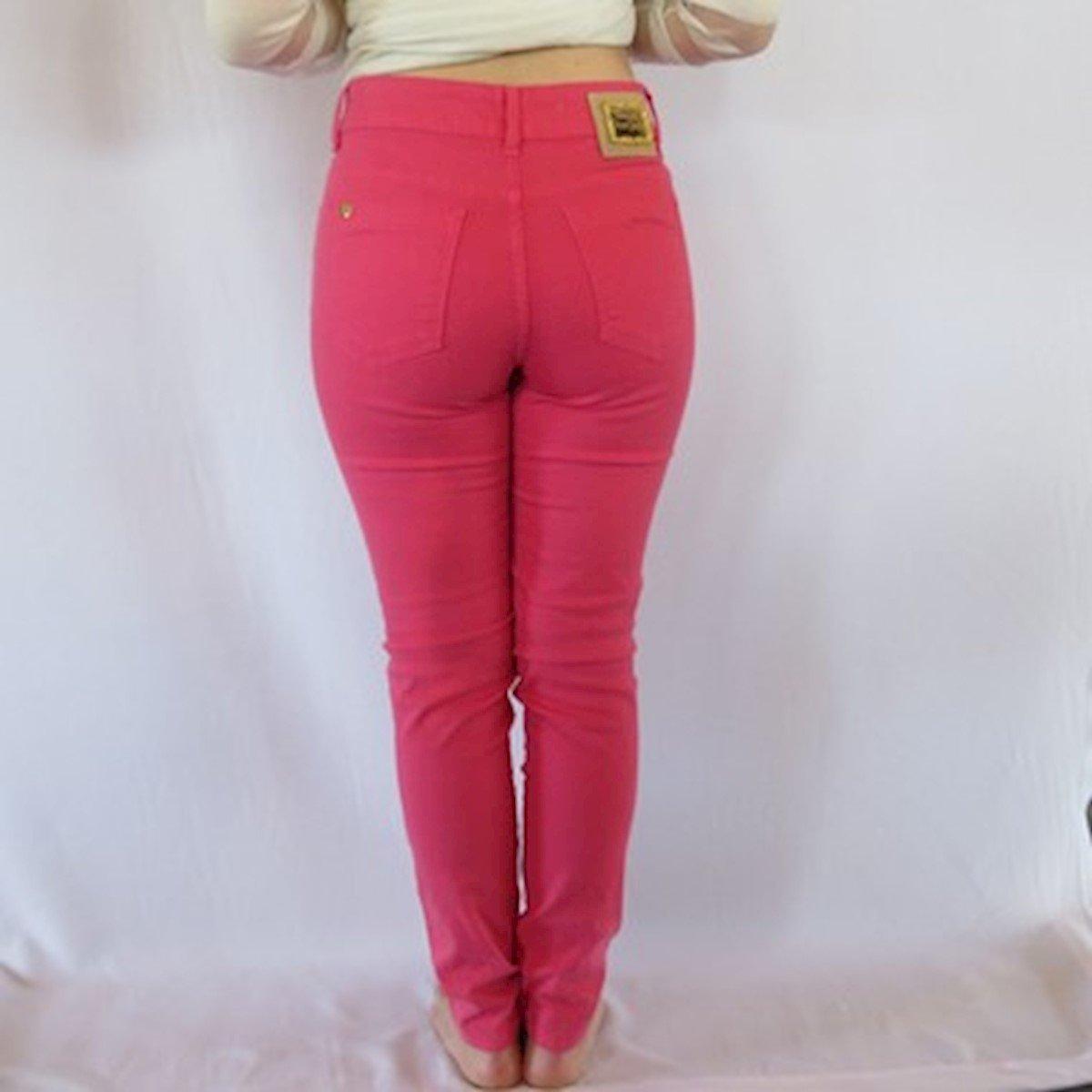 Calça Rosa Visual Feminina Calça Visual Jeans PR1wPzqT