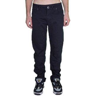 Calça Volcom Jeans Black Preta-48