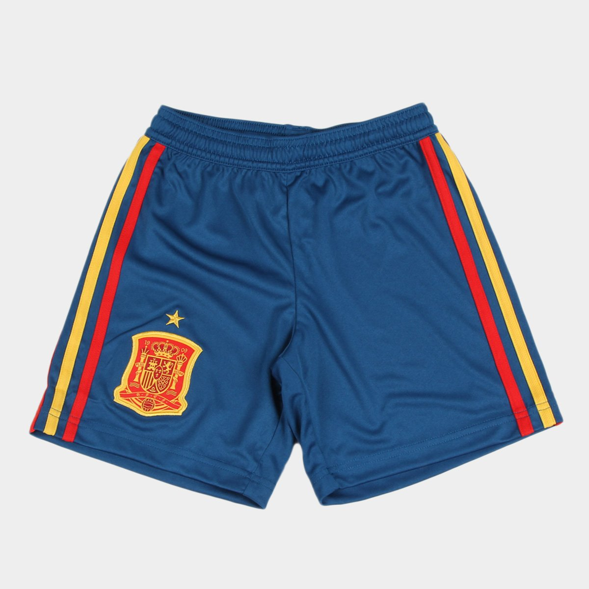 90caa7c36f2d1 Calção Adidas Espanha Infantil - Compre Agora