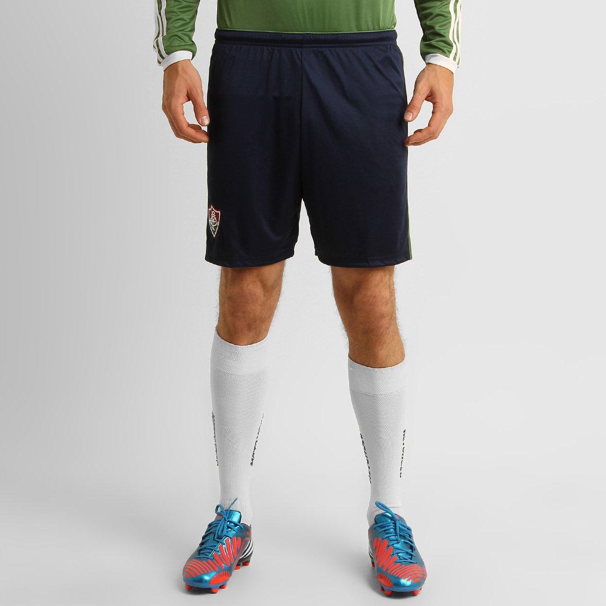 Calção Adidas Fluminense 2015 - Compre Agora  abb2b08e53514