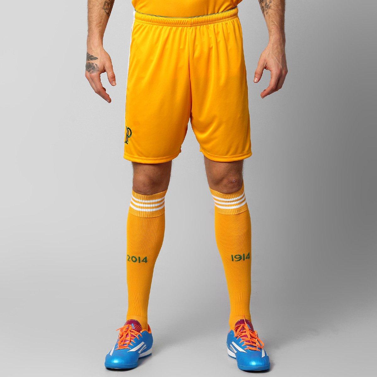 Calção Adidas Palmeiras Goleiro 1914-2014 - Compre Agora  4dc1d5a2b8f68