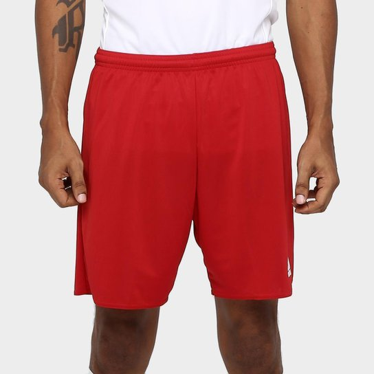 Calção Adidas Parma Masculino - Vermelho+Branco