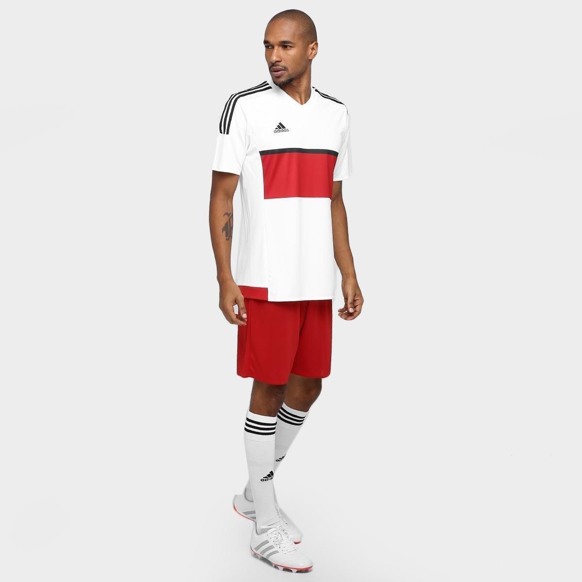 ... Calção Adidas Parma Masculino. Calção Adidas Parma Masculino - Vermelho +Branco add1e3ad0ecc8