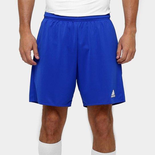 Calção Adidas Parma Masculino - Azul+Branco