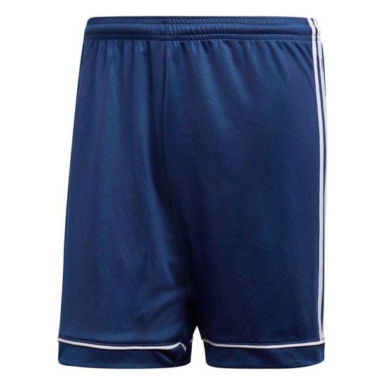 Calção Adidas Squadra 17 Masculino - Marinho+Branco