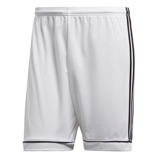 Calção Adidas Squadra 17 Masculino - Branco
