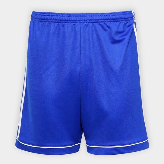Calção Adidas Squadra 17 Masculino - Azul+Branco