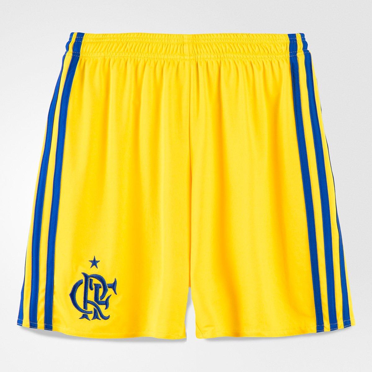 6404e4015276d Calção Flamengo Infantil III 17 18 Adidas - Compre Agora