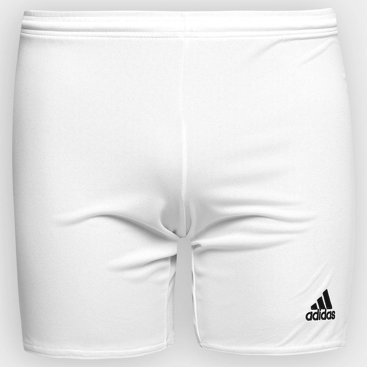 e56446df4b556 Calção Infantil Adidas Parma 16 - Branco - Compre Agora