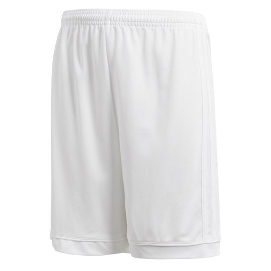 Calção Infantil Adidas Squadra - Branco