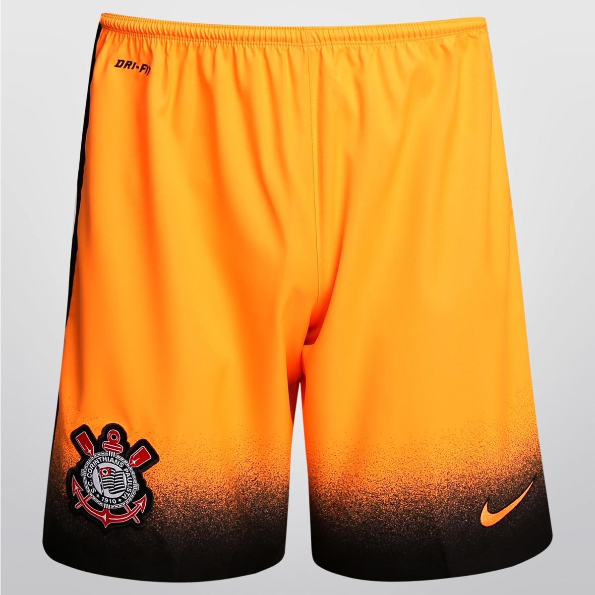 Calção Nike Corinthians 2015 - Compre Agora  9a63114301e8f