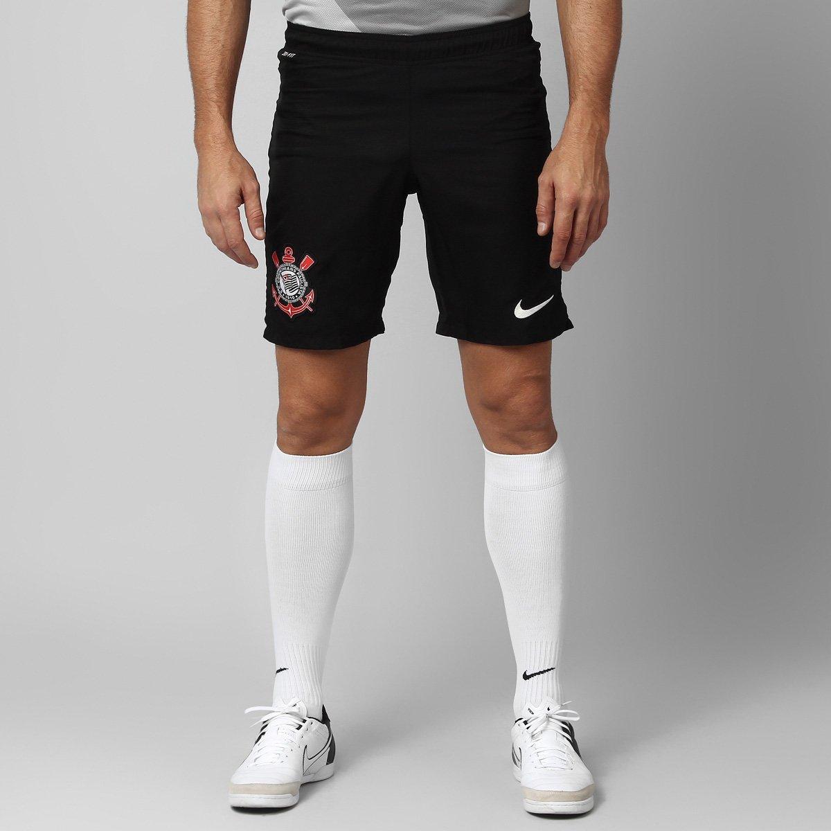 Calção Nike Corinthians Goleiro 13 14 - Compre Agora  e84d113b17b8c