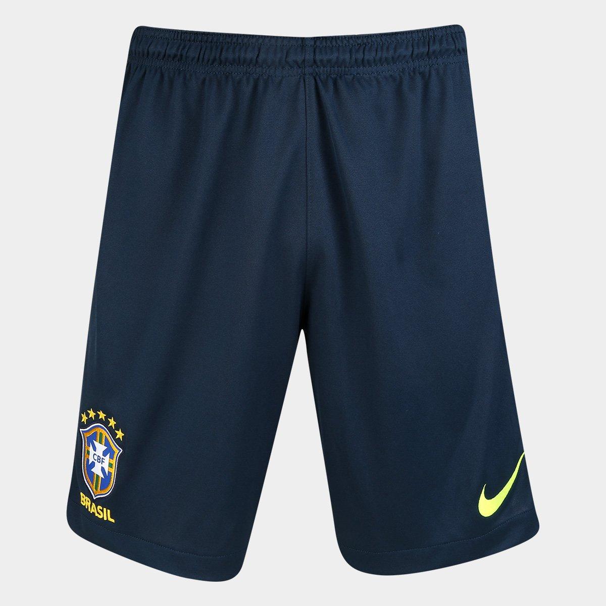 Calção Seleção Brasil Dry Squad Nike Masculino - Compre Agora  c84c01c2c50a9