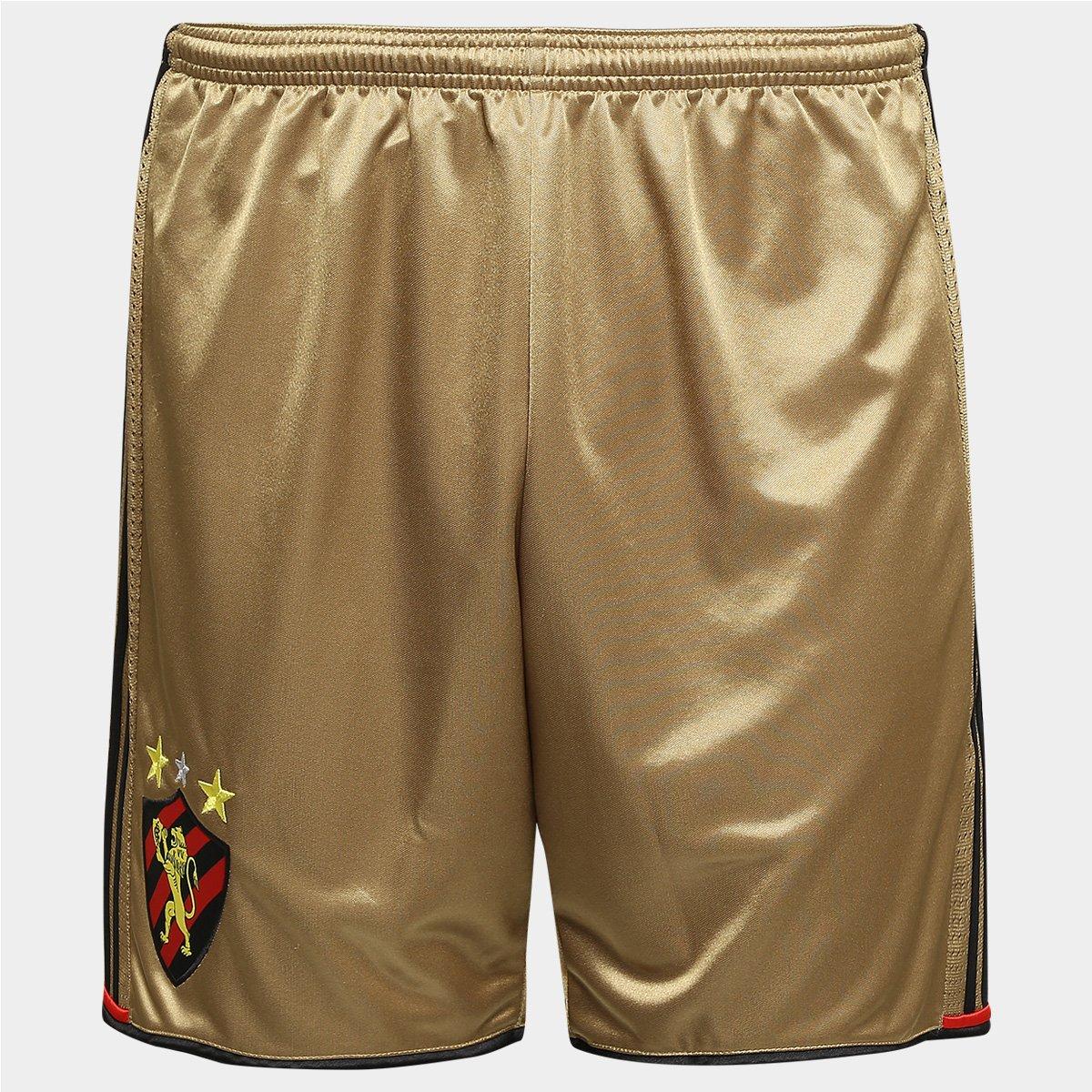 299dde1165012 Calção Sport Recife 2016 Adidas Masculino - Dourado - Compre Agora ...