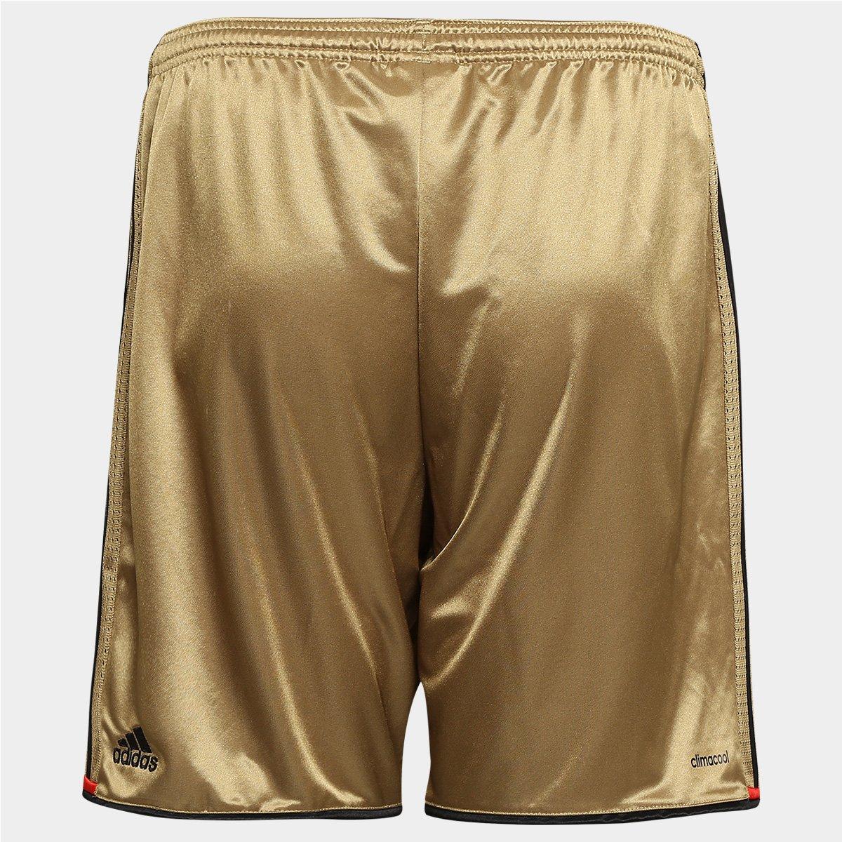 Calção Sport Recife 2016 Adidas Masculino - Dourado - Compre Agora ... 3e0d728e4de32