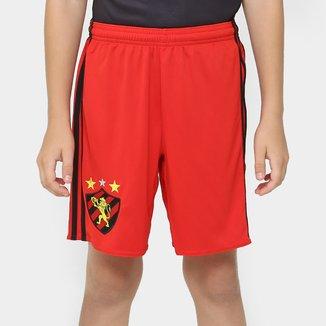 Calção Sport Recife Infantil 16/17 Adidas Masculino