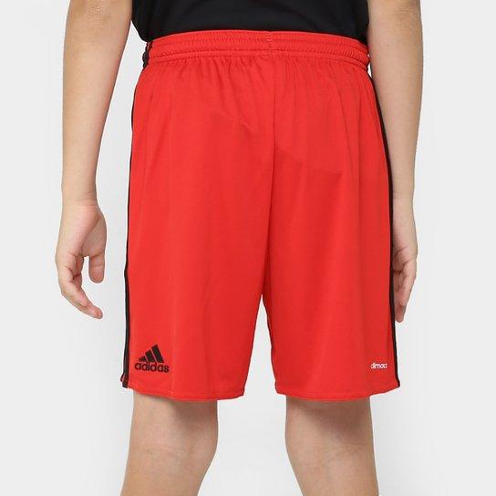 Calção Sport Recife Infantil 16/17 Adidas Masculino - Vermelho