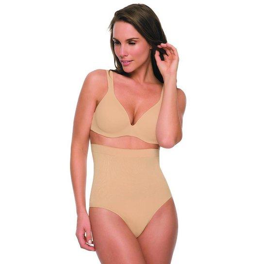 Calcinha Alta Hanes Shapewear H423 Nude - P - Nude