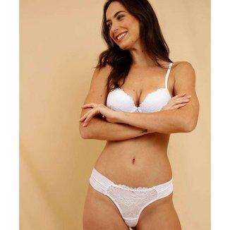 Calcinha Fio Dental Feminina Renda Marisa - 10046422491