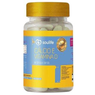 Cálcio e Vitamina D 500mg - 150 Cáps - Soulife