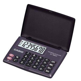Calculadora Casio Digital Portátil LC-160LV-BK-W