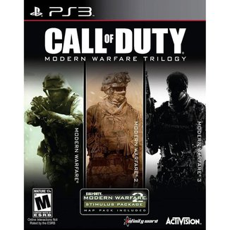 Call of Duty Modern Warfare Collection Trilogy - PS3