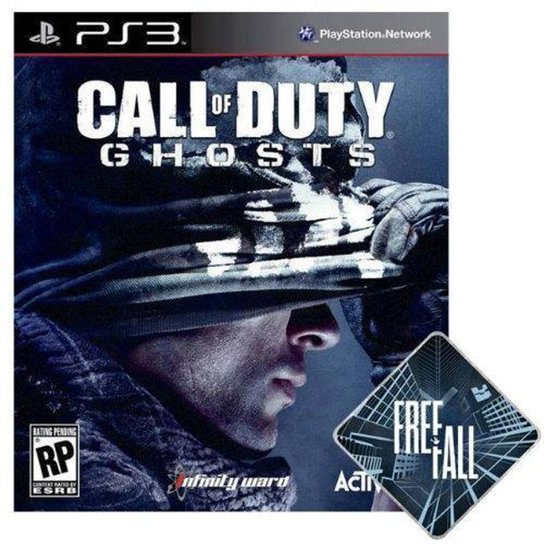Call of Duty: Ghosts - Free Fall Edition - PS3 - Incolor