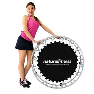 Cama Elástica Mini Jump Profissional + DVD de Exercícios Natural Fitness