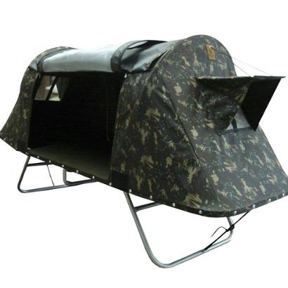 Cama Tatu Casal Dobrável para Camping Fácil Montagem - Unissex - Camuflado