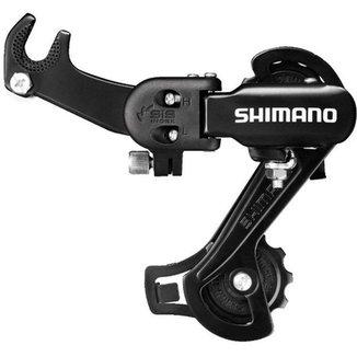 CAMBIO TRASEIRO SHIMANO TOURNEY RD-TZ31-A GS 6/7V C/GANCHEIRA (1050423)