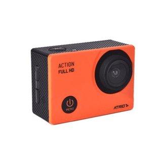 Câmera de Ação Atrio Action Full HD Laranja - DC1