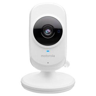 Câmera de Monitoramento Motorola Wi Fi Focus 68, Monit. Smartphone, Bi volt Branca Camera Motorola F