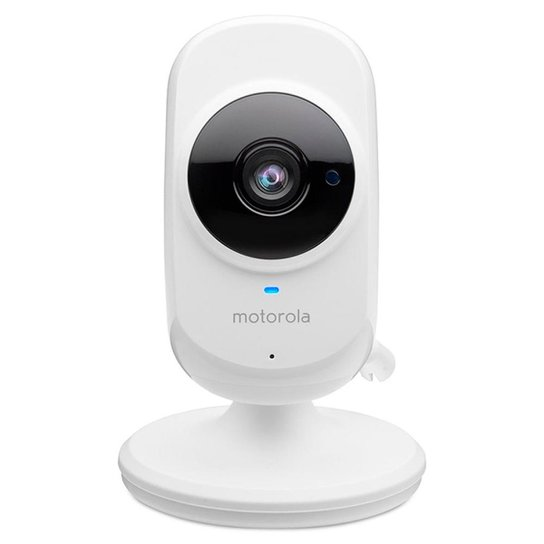 Câmera de Monitoramento Motorola Wi Fi Focus 68, Monit. Smartphone, Bi volt Branca Camera Motorola F - Branco