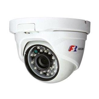 Camera Dome FBR PP IR15 720 Pixels 2.8MM CVI TVI AHD CVBS IP65
